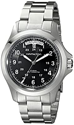 Hamilton Men's Analogue Automatic Watch with Stainless Steel Strap H64455133