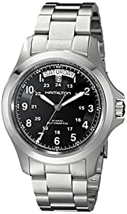 Hamilton Men's Automatic Watch Analogue Display and Stainless Steel Strap H78615135