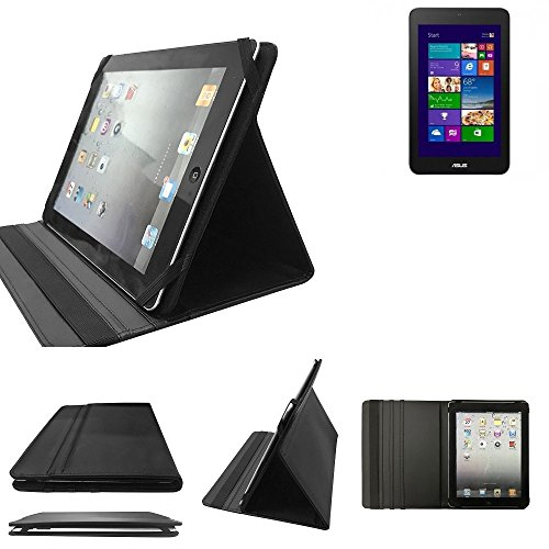 K-S-Trade ASUS VivoTab Note 8 Schutz Hülle Business Case Tablet Schutzhülle Flip Cover Ultra Slim Bookstyle Tasche für ASUS VivoTab Note 8, schwarz. Kunstleder Qualitätsware