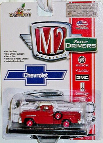 M2 Machines Auto-Drivers 1958 Chevrolet Apache Step Side, Release 31, R31 15-02 by M2 Machines