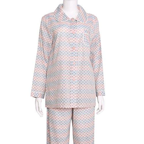 Ladies 'Home Abbigliamento/Stampe semplice ma elegante e confortevole cotone manica lunga pantaloni pigiama/Pigiama A