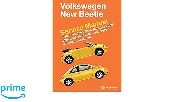 Volkswagen new beetle service manual 1998 1999 2000 2001 2002 volkswagen new beetle service manual 1998 1999 2000 2001 2002 2003 2004 2005 2006 2007 2008 2009 2010 including convertible amazon fandeluxe Gallery