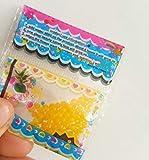 PlenTree 100 PCS Tutti i Tipi di Campioni di Fango Colori Bonsai di Perline di Cristallo della Decorazione del Vaso Fuori Suolo Culttion Mix Confezione Colore: Giallo Chiaro
