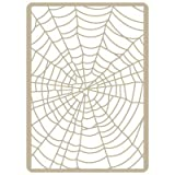 TODO STENCIL All Stencil – aerografia Fund 013 Cobweb, Stencil 20 x 30 cm and 19 x 26 cm