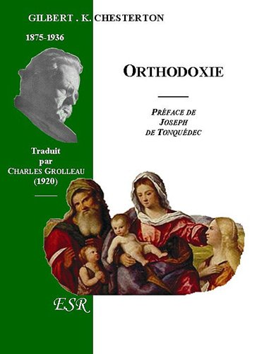 Orthodoxie par Gilbert-Keith Chesterton