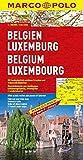 MARCO POLO Länderkarte Belgien, Luxemburg 1:300.000 (MARCO POLO Länderkarten)