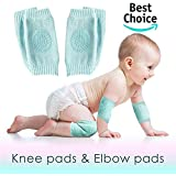 Aseem Set of 2 Baby Knee and Elbow Toddlers, Girls, Boys | Infant Pads for Baby Crawling | Unisex Anti-Slip Protective Cushion for Kids | Safety Leg Warm Accessories
