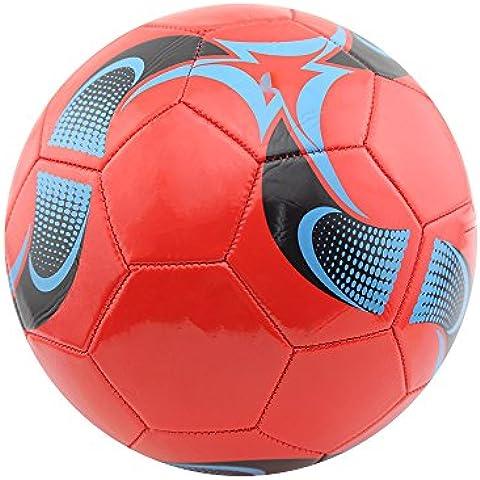 Tamaño Owfeel 5 del fútbol del fútbol de la bola de Formación Oficial de ajuste de color rojo