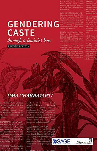 Gendering Caste: Through a Feminist Lens (Theorizing Feminism)