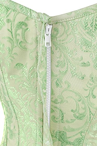 Burleska Glamour Overbust Korsage mint Mint