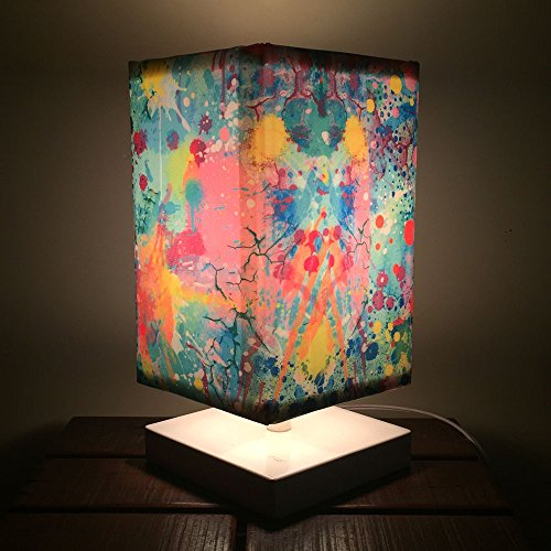 Nutcase Designer Table Lamps With FREE BULB - Watercolors
