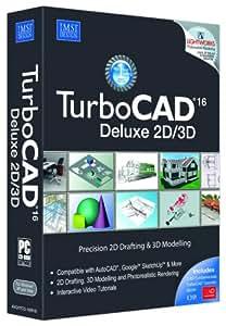 TurboCAD 16 Deluxe 2D/3D (PC DVD)