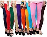 #6: Rooliums Women's Cotton Leggings (Pack of 10) (HRCLCOMBO10-12_Multi Color _Free Size)