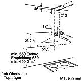 Siemens LC67WA532 iQ300 Wandhaube / 60 cm / Wahlweise Abluft- oder Umluftbetrieb / für Wandmontage über Kochstellen / edelstahl - 9