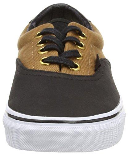 Unisex Sneaker von Vans–Era 59CA Black (T&L - Rubber/Black)