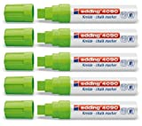 5Count Savings Pack Jumbo Window Chalk Marker Edding 4090many colours to choose from