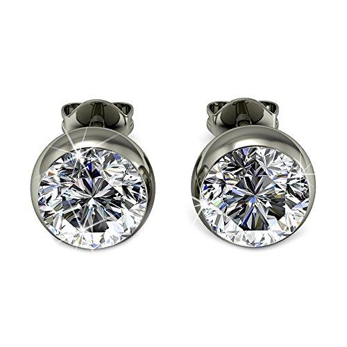 Yourdora donna palla orecchini con 5mm swarovski cristal gioielli di moda regalo