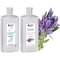 LAMPE BERGER Vorteilsset - 2 Düfte - 1000 ml Neutral und 1000 ml Wilder Lavendel/Champs de Lavande inkl. EO Shopping... preisvergleich bei billige-tabletten.eu