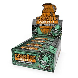 Grenade Carb Killa High Protein e Low Carb Bar, 12 x 60 g - Menta al cioccolato fondente 3 spesavip
