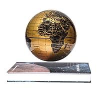 Questo globo lievitante molto più di un'illusione ottica. Galleggia incredibilmente a mezz'aria usando una combinazione di scienza e magia Due magneti opposti aiutano il globo da 6 pollici a librarsi a mezz'aria sopra la base. Il globo ha un ...