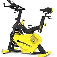 Preisvergleich für K-Y Indoorcycling Bikes Indoor-Fahrrad, 14 kg Schwungrad, Einstellbarer Widerstand, Herzfrequenz, Verstellbarer Griff und Sitz.
