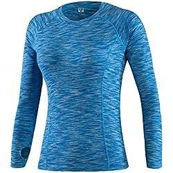 Uglyfrog Nuevo Deportes y Aire Libre Mujer Ciclismo Medias Ropa Deportiva Running Camisetas Manga Larga Spring&Winter Style N5019