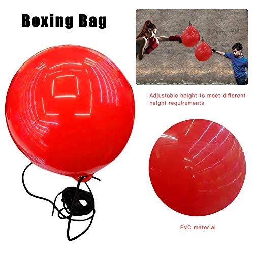 Cassiela Bolsa De Boxeo Velocidad Boxeo Pera Velocidad Bola Inyección De Agua De Entrenamiento Resistente Al Desgaste Golpes para Velocidad Y Fuerza Fitness para Niños Principiantes