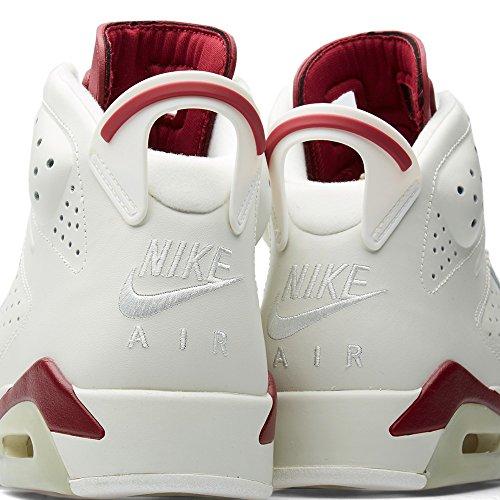 Nike - Air Jordan 6 Retro, Scarpe sportive Uomo off white/new maroon