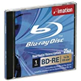 Imation Jewel Case i19982 Confezione da Blue Ray BD-RE, 25 GB, 2x, Multicolore