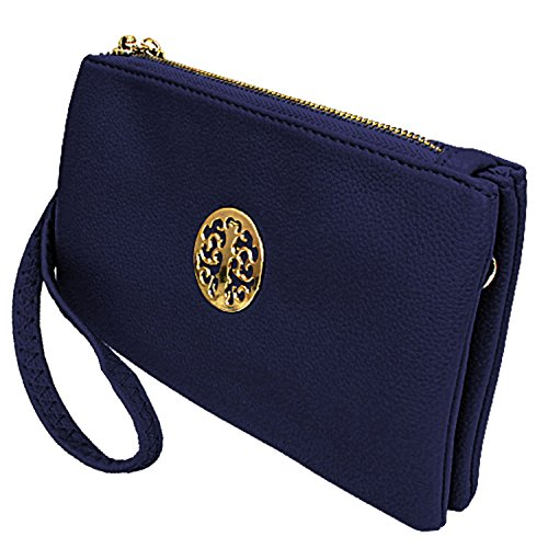 Fashion Choice - Borsetta senza manici Ragazza donna Navy