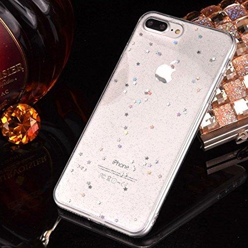 GHC Cases & Covers, Epoxy Tropfende schwarze sternenklare weiche TPU schützende Fall-rückseitige Abdeckung für iPhone 7 ( SKU : Ip7g2298a ) Ip7g2298c