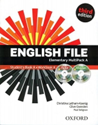 English File Elementary Multipack A par Clive Oxenden
