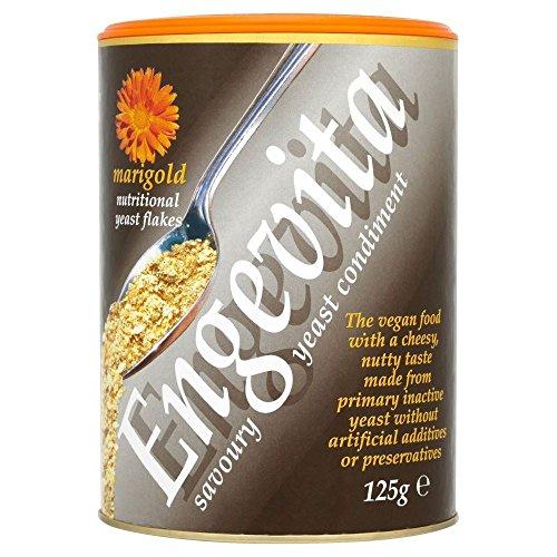 Marigold Engevita Flocons de levure nutritionnelle (125g) - Paquet de 6