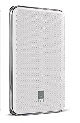 iBall Portable SLIM Power Bank With Dual USB Port & Rechargeable Power Battery 5000mAh - White