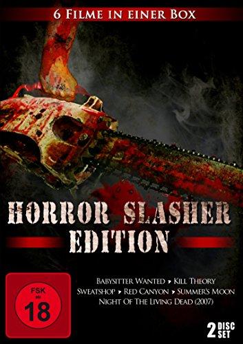 Horror Slasher Edition [6 Filme im 2 Disc Set]