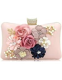 89bedbb2b120 PARADOX (LABEL) Women Flower Clutches Evening Handbags Wedding Clutch Purse