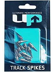 Ultimate Performance Track Spikes - Cordones de clavos, tamaño 6 mm, color plateado