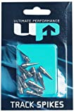 Ultimate Performance Track Spikes - Cordones de clavos, tamaño 12 mm, color plateado