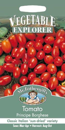 Mr. Fothergill's 10552 Sachet de 75 graines de tomates Principe Borghese