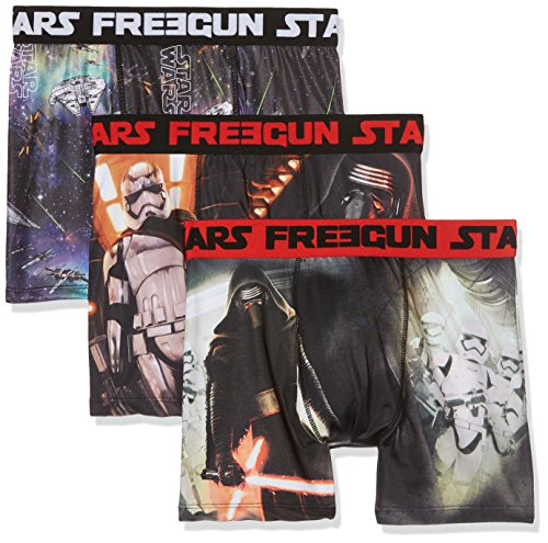 Star Wars Herren Boxershorts Freegun Mehrfarbig (MULTICOLOR A13)