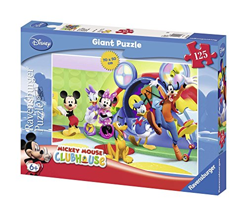 Ravensburger Mickey Mouse Clubhouse 125 piece Giant Floor Puzzle