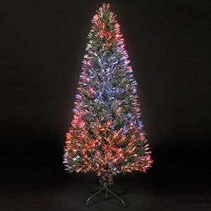 2.75ft/80cm Supernova Outdoor Fibre Optic Christmas Tree