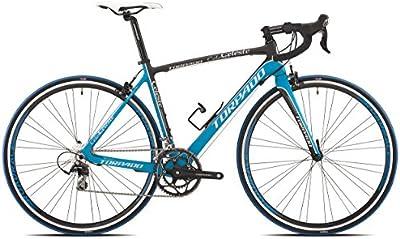 torpado bicicleta correr Celeste 10V Carbono talla 52negro azul (Corsa Strada)/Bicycle Road Celeste 10V Carbon Size 52BLACK BLUE (Road Race)
