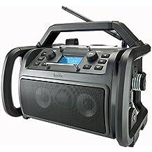 Audisse Shokunin WLAN Internet-Baustellenradio, DAB+/UKW, Bluetooth, USB, App