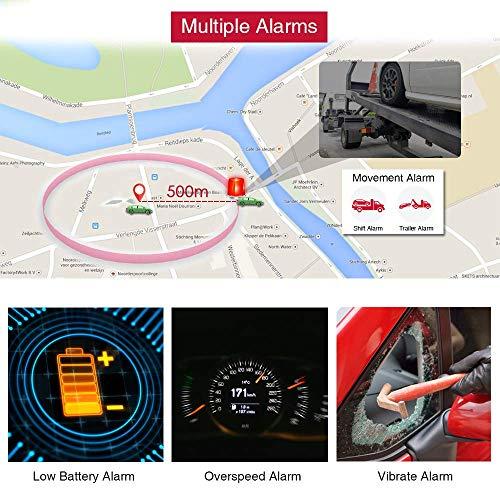 51BnGsfvugL - TKSTAR Localizador gps para coche , Magnético fuerte Rastreador GPS , Vehículos Monitoreo Sistema en Tiempo Real , Anti perdido Dispositivo impermeable gps tracker con gratis APP para Smartphone TK905
