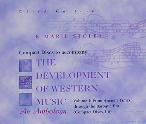 compact-disk-vol-i-for-use-with-the-development-of-western-music-by-k-stolba-1998-10-02