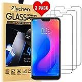 Vetro Tempera Xiaomi Mi A2 Lite,[3 Pack] Zlychen Pellicola Protettiva Protezione Schermo in Vetro Temperato Screen Protector Film protezione...