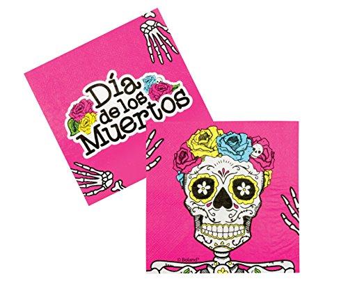 Dia De Los Muertos Servietten -
