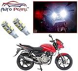 #6: Auto Pearl - LED Parking Bulb Pilot Light / Daytime Running Lens Led Light (4040) For - Bajaj Pulsar 150