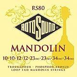 Rotosound Lot de 8 cordes pour mandoline Bronze phosphoreux